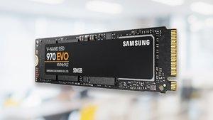 Samsung 970 EVO im Preisverfall: Top-SSD mit 500 GB Speicher zum Spitzenpreis
