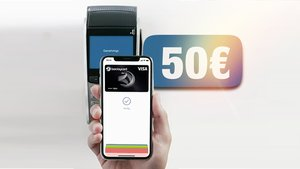 Kostenlose Kreditkarte für Apple und Google Pay: Kurzfristig noch 50 Euro geschenkt