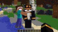 Minecraft-Spieler spielt Minecraft in Minecraft – klingt verwirrend, ist aber so
