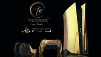 PS5: Für diese goldene Luxus-Version muss man tief in die Tasche greifen