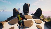 Fortnite: Ruinen am Berggipfel finden und als Thor ein Emote einsetzen