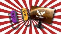 Fette Gaming-Deals bei Alternate: Joy-Cons, Monitore und mehr stark reduziert