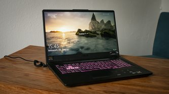 Asus TUF Gaming A17 im Test: Günstiger Gaming-Laptop im Plastikmantel