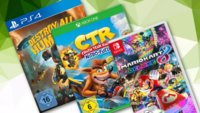 Mario Kart 8, Destroy All Humans und weitere Games bei MediaMarkt im Angebot