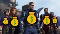 """""""Marvel's Avengers""""-Battle-Pass: Ihr müsst für jeden Helden extra zahlen"""