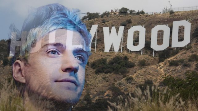 Ninja strebt eine Hollywood-Karriere an.