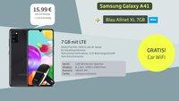 Mega-Spartarif: Beliebtes Samsung-Handy + 7 GB LTE + Zugabe für 16€/Monat