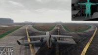 GTA 5-Spieler ist das menschliche Flugzeug: Er breitet die Arme aus und fliegt