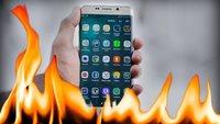 Smartphone vor Hitze schützen – so geht's