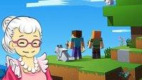 Minecraft-Omi zeigt Welt, an der sie 6 Jahre gebaut hat