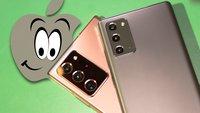 Samsung Galaxy Note 20 als Vorlage: Diese Features darf sich das iPhone gerne abgucken