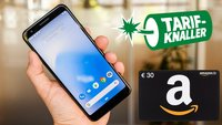 Limitiertes Angebot: Google Pixel 3a + 30€ Amazon-Gutschein + 5 GB LTE für effektiv 1€/Monat