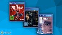 PS4-Spiele und -Bundles im Angebot: Gaming-Deals bei Amazon