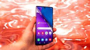Samsung Galaxy Note 20: Im Falltest überrascht das Smartphone