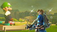 Breath of the Wild mit Mario Kart, es sieht so gut aus