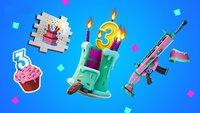 Ein Emote und andere Geschenke: Fortnite feiert 3. Geburtstag