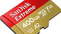 Riesige microSD-Speicherkarte für Smartphone & Nintendo Switch zum Top-Preis bei Amazon