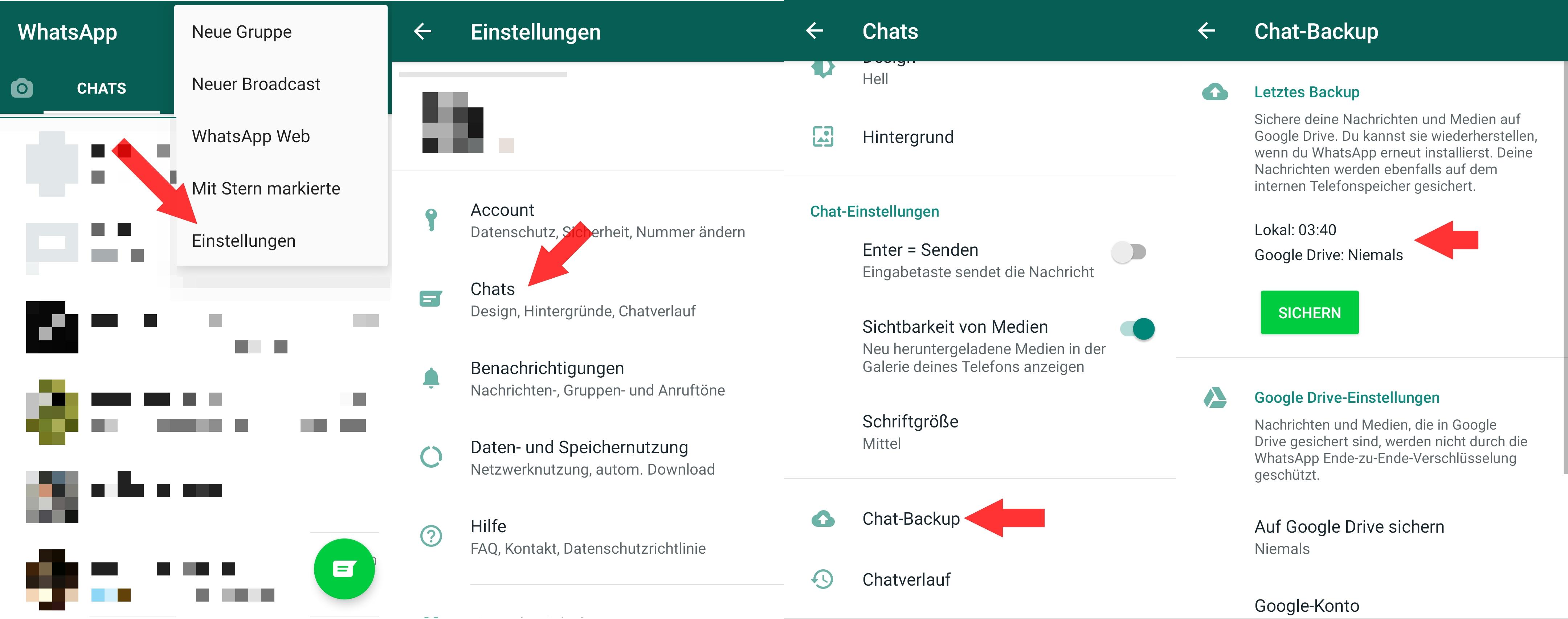 Verlauf wiederherstellen telegram gelöscht Telegram: Chat