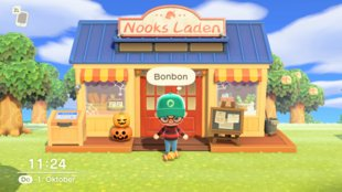 Animal Crossing - New Horizons: Bonbons farmen