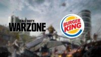 CoD: Warzone und Burger King verteilen Bonus-Inhalte zur Bestellung
