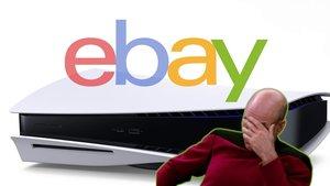 Es war zu erwarten: Flitzpiepen bieten PS5 auf Ebay zu Wucherpreisen an