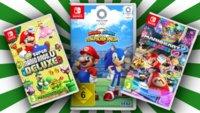 Switch-Deals bei MediaMarkt: Games und SD-Karten im Angebot