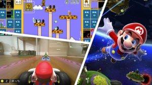 Mario wird 35: Fans bekommen Mario Kart im Wohnzimmer und Battle Royale