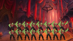 WoW: Bosskampf wird zum Dance Battle – 25 Spieler schwingen das Tanzbein