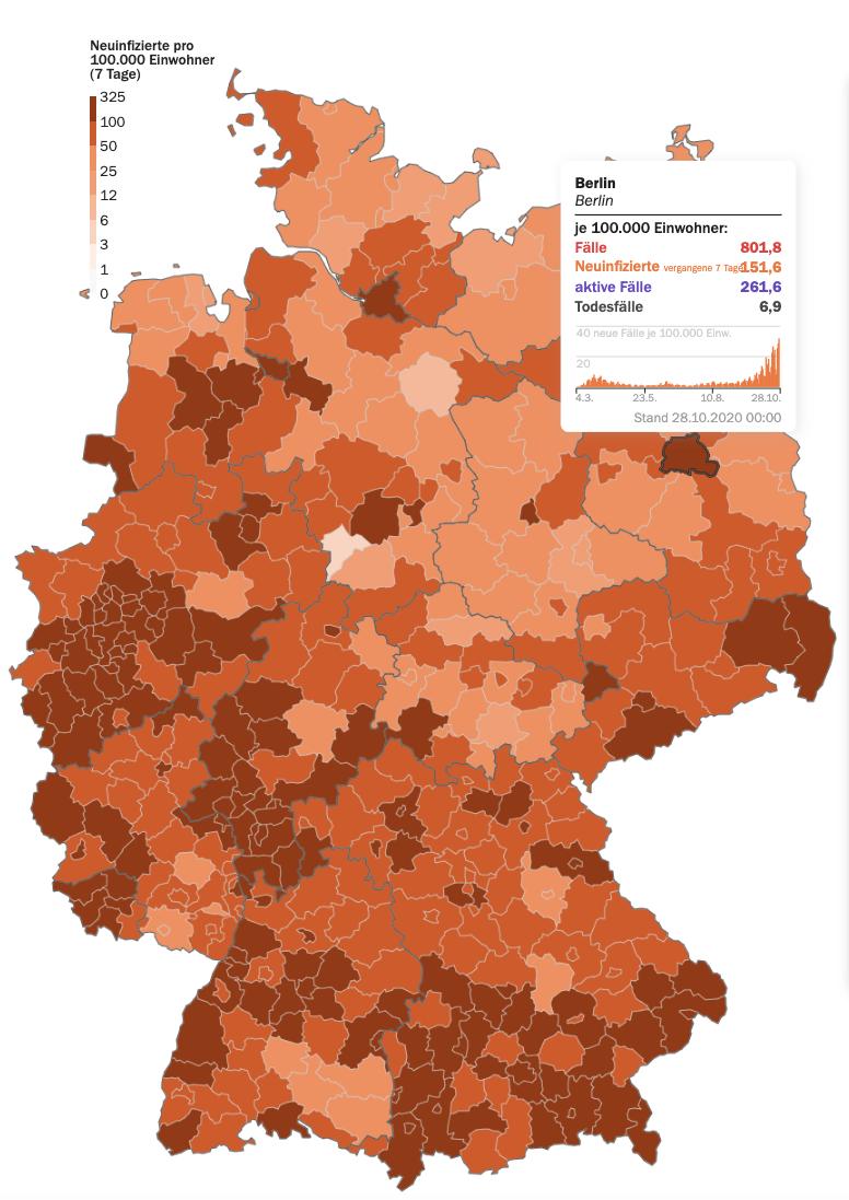 Corona Karte Deutschland