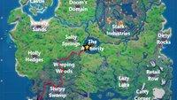 Fortnite: Fahre ein Boot von The Fortilla zu The Authority