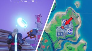 Fortnite: Ringe in der Luft bei Steamy Stacks - Fundorte