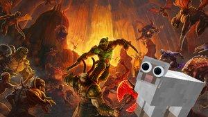 Fan bringt Doom auf Minecraft-Schafherde zum Laufen