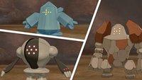 Pokémon Schwert & Schild: Regigigas, Regidrago, Registeel und mehr fangen
