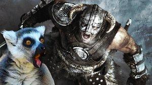 Skyrim-Spieler zwingt mächtigen Gegner kinderleicht zur Flucht