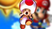 Zur Einsamkeit verdammt: Nintendo vergisst armen Toad unter der Map