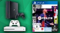 """""""FIFA 21""""-Deals bei MediaMarkt: Konsolen-Bundles stark reduziert"""