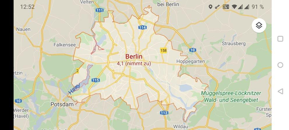 Berlin Risikogebiet