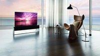 Teuer wie ein Sportwagen: LG stellt bahnbrechenden OLED-Fernseher vor