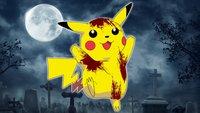 Eine Pikachu-Figur, die nur Horror-Fans lieben können