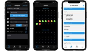 Cluster Diary – App für Android