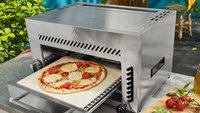 Lidl verkauft großen Oberhitze-Gasgrill mit Pizzastein zum Hammerpreis