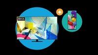 Samsung Galaxy A51 geschenkt beim Kauf eines 65-Zoll-QLED-Fernsehers