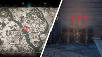 Assassin's Creed Valhalla: Eoforwic-Truhe mit 3 Schlössern - Schlüssel-Fundorte