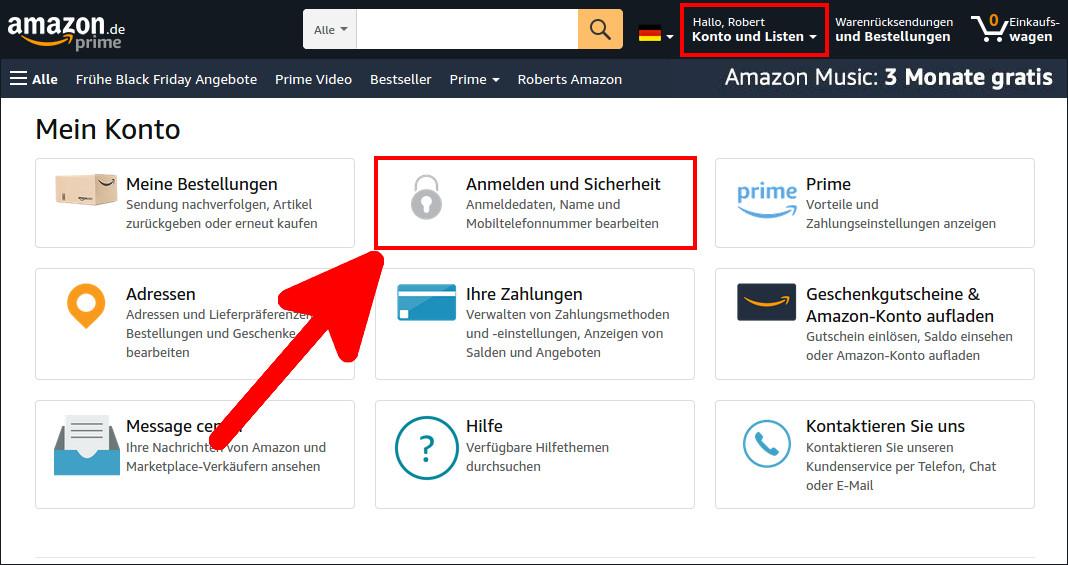 Amazon Telefonummer