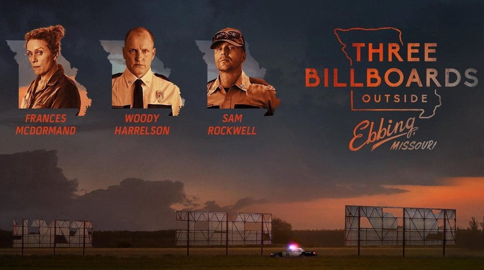 Neu auf Netflix: Three Billboards Outside Ebbing, Missouri.