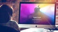 Apples Neuheiten im Livestream: Jetzt ansehen
