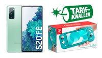 Vertrags-Kracher: Samsung S20 FE + Nintendo Switch Lite mit Tarif unschlagbar günstig