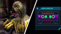 Spider-Man - Miles Morales: Alle 10 Audio-Samples - Lösungen
