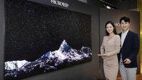Unvorstellbar teuer: Riesiger Samsung-Fernseher sprengt alle Preisgrenzen