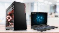 Nächste Woche bei Aldi: Schnelle Gaming-Laptops und -PCs – lohnt sich der Kauf?